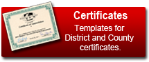 Coach Button certificates
